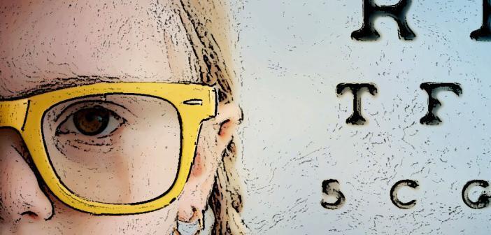Zu den Ursachen für das Anwachsen der Kurzsichtigkeit bei Kindern zählen verändertes Freizeit-, Lern- und Arbeitsverhalten, Atropin-Augentropen schützen hier am besten. © guschenkova / shutterstock.com