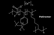 Strukturformel von Patiromer. © Anypodetos / CC0 / wikimedia