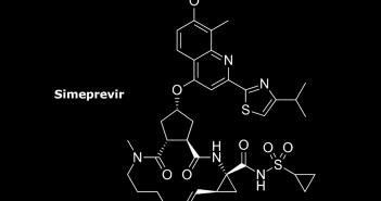 Strukturformel von Simeprevir