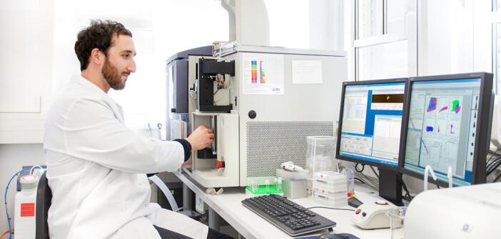 Mit Hilfe der FACS® (Fluorescence Activated Cell Sorting)-Analyse kann z. B. eine große Anzahl von Fettvorläuferzellen gemessen oder analysiert werden. © Till Budde / DIfE