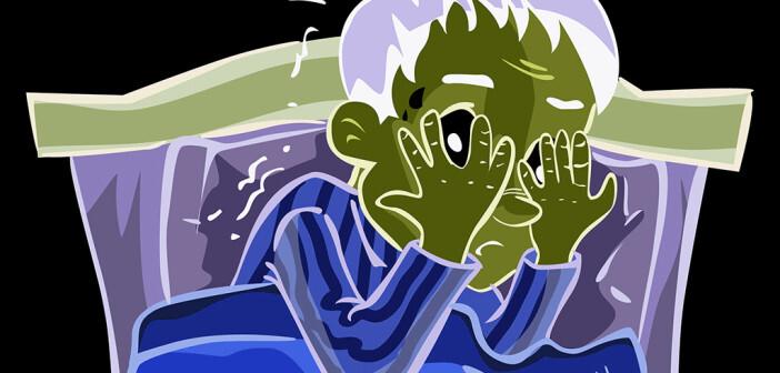 Schlafstörung als Symptom verschiedener Erkrankungen. © Sign N Symbol Production / shutterstock.com