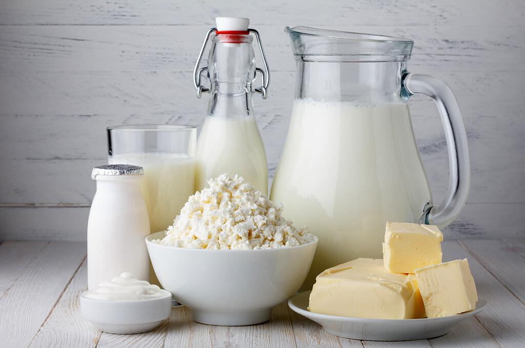 Milch und Milchprodukte © nevodka / shutterstock.com