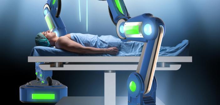 Transorale roboterassistierte Chirurgie (Transoral Robotic Surgery = TORS) – ein alternatives Konzept. © Elnur / shutterstock.com