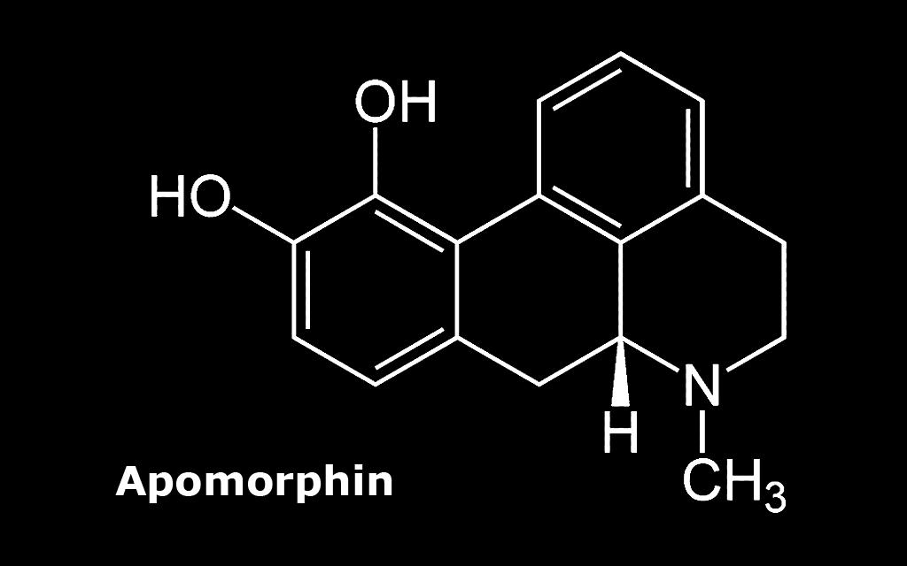 Apomorphin ist das einzige Parkinson-Medikament, dessen Wirksamkeit der von Levodopa entspricht. Mit einer kürzeren Zeit bis zum Einsetzen und einer kürzeren Wirkungsdauer