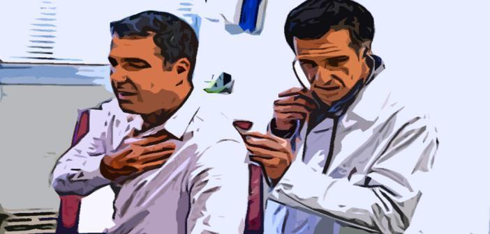 Arzt untersucht COPD-Patient. © Image Point Fr / shutterstock.com