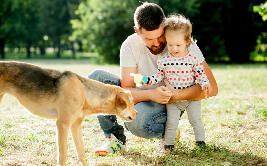 Kinder profitieren hinsichtlich der Kommunikation von der Notwendigkeit, mit dem Tier zu sprechen, die durch das auffordernde Verhalten der Hunde entsteht. © rastlily / fotolia.com