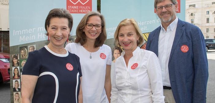 Starke Frauen – Starke Herzen: Initiative gegen Herzerkrankungen bei Frauen. © Oreste Schaller / Welldone