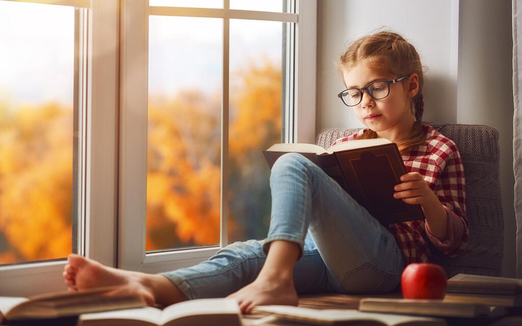 Zum Lesen ist helles Tageslicht eigentlich die besten Lichtform, denn es ist weitestgehend blendfrei und hat eine angenehme Lichttemperatur. © Konstantin Yuganov / fotolia.com