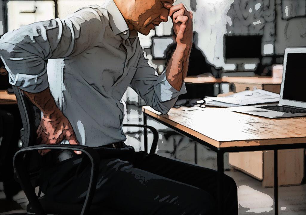 Akute Rückenschmerzen kann man in den meisten Fällen wirksam konservativ behandeln. © Olena Yakobchuk / shutterstock.com