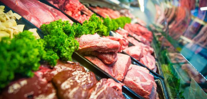 Entzündungsfördernde Ernährung: rotes und verarbeitetes Fleisch, raffiniertes Getreide und kohlensäurehaltige Getränke in Kritik. © ESB Professional / shutterstock.com