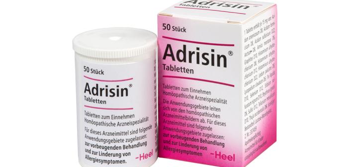 Neues Produkt im Hause Peithner: Adrisin statt Allergie
