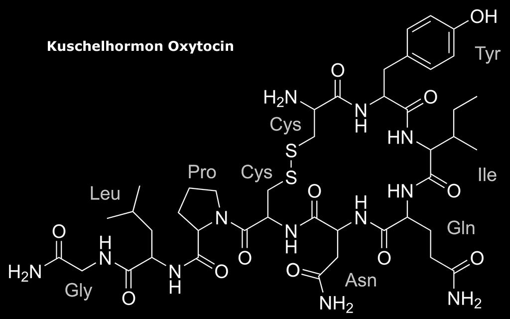 Strukturformel von Oxytocin