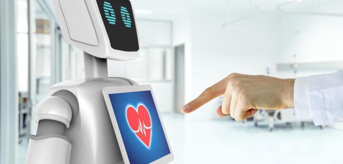 Sozial interagierende Roboter und Service-Roboter für die Kranken- und Altenpflege. © Zapp2Photo / shutterstock.com