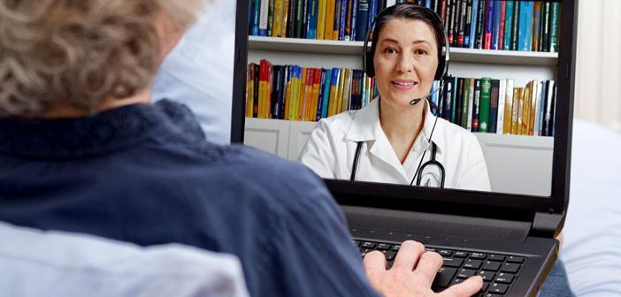 Videosprechstunde kann Arzt-Patienten-Beziehung optimieren helfen. © Agenturfotografin / shutterstock.com
