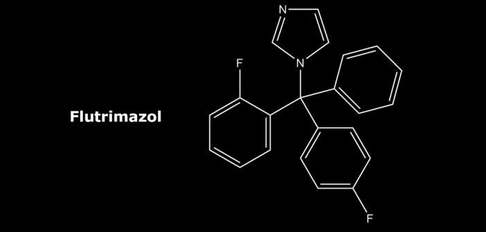 Strukturformel Flutrimazol