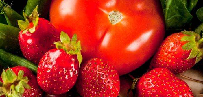 Erdbeeren und Tomaten © Rimma Bondarenko / shutterstock.com
