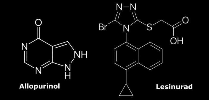 Lesinurad-Allopurinol-Kombination für die Gicht-Behandlung zugelassen.