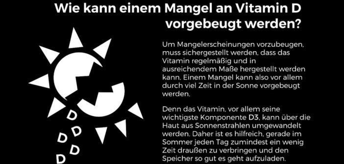 Wie man Vitamin-D-Mangel vorbeugen kann. © Vitamin-D.info