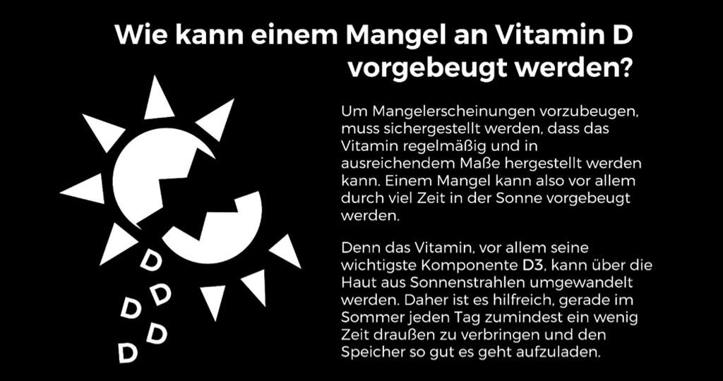 Vitamin d 3 mangel dosierung
