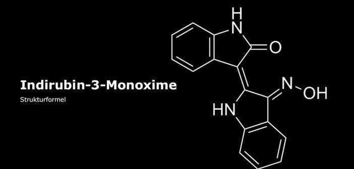 Strukturformel von Indirubin-3-Monoxime © afcom.at