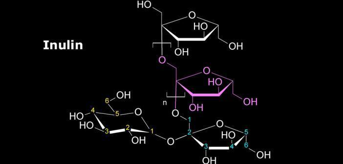 Strukturformel von Inulin © Florian Fisch / wikimedia
