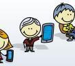 Kinder Smartphones, PC und Tablets © Alan Uster / shutterstock.com