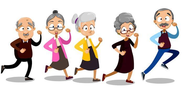 Bewegung, Körperliches Training © Senioren / Vectors bySkop / shutterstock.com