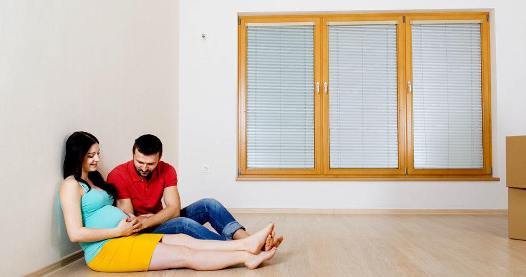 Wohnungsrenovierungen in der Schwangerschaft vermeiden. © Halfpoint / shutterstock.com