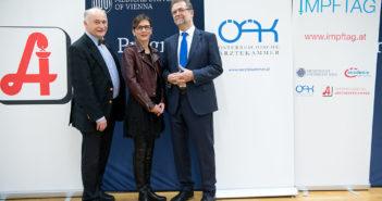 (von links): Gerhard Kobinger, Ursula Wiedermann-Schmidt, Rudolf Schmitzberger. @ APA / Hörmandinger