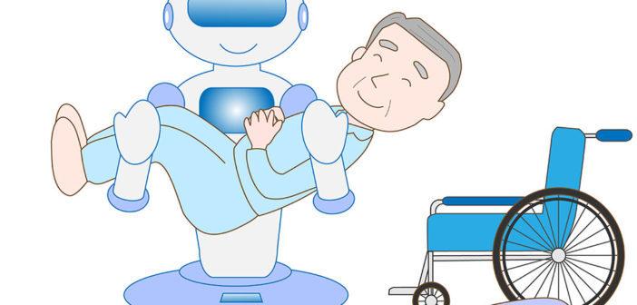 Hilfe von Robotern in der Gesundheitsindustrie. © shin28 / shutterstock.com