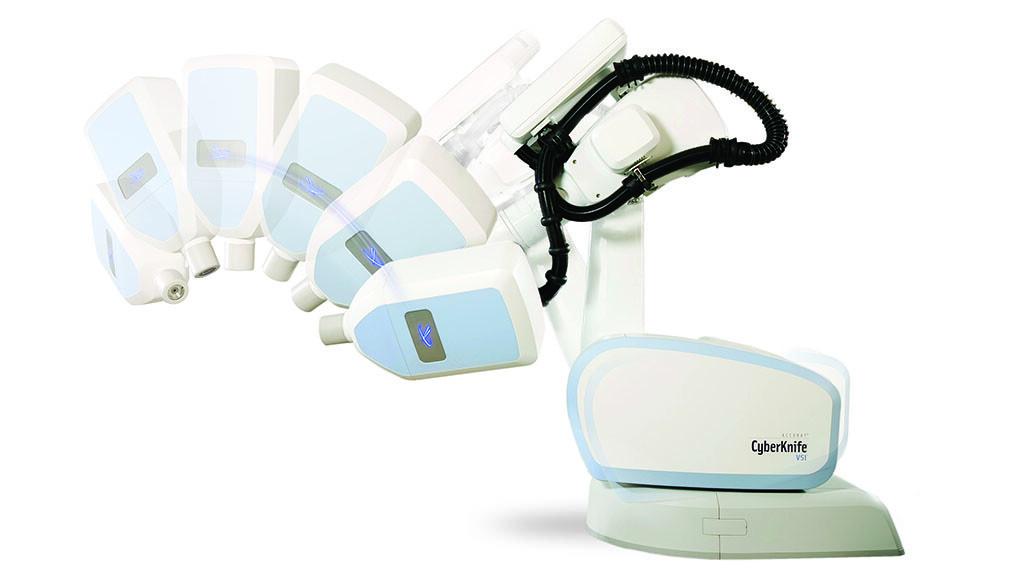 Im Rahmen der HYPOSTAT-Studie wird der Prostatakrebs mit dem CyberKnife mit hochdosierter Radiochirurgie bestrahlt. © UKSH