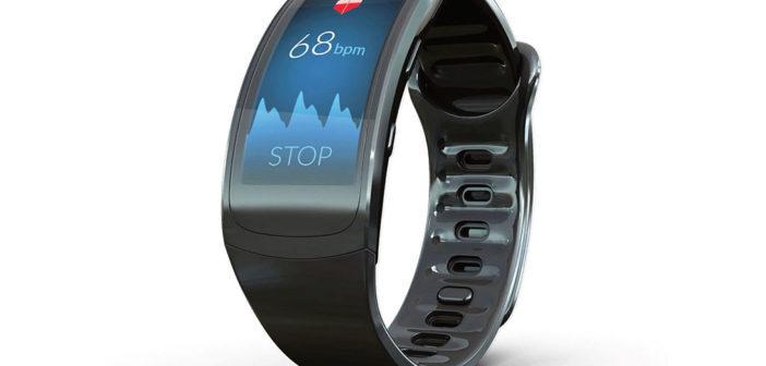Eine Smartwatch mit einer App, die den Herzrhythmus aufzeichnen kann. © PREVENTICUS GmbH, Jena