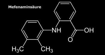 Strukturformel der Mefenaminsäure