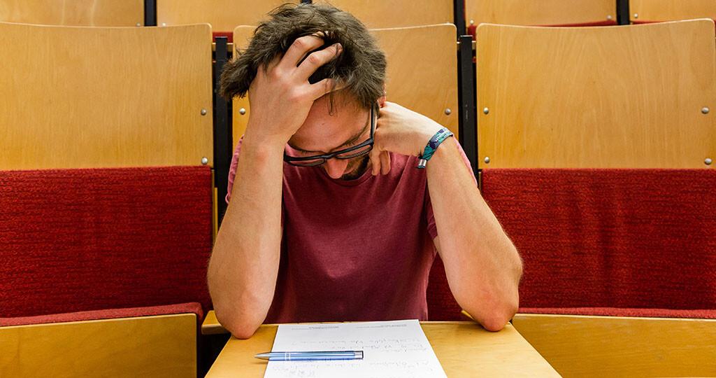Viele Studierende fragen sich, was gegen Prüfungsangst hilft. © Universitätsmedizin Magdeburg / Sarah Koßmann