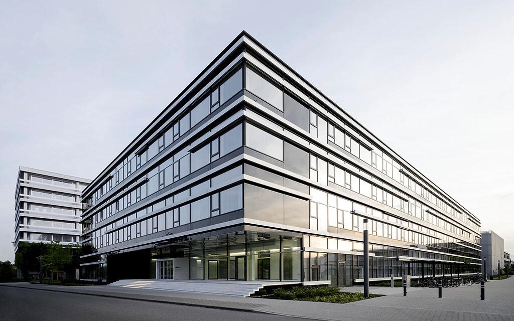 Das neue Forschungszentrum für Bildgebung und Radioonkologie des DKFZ in Heidelberg.