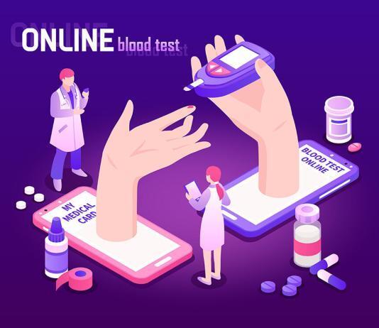 Tele-Diabetes kann die Versorung von Menschen mit Diabetes verbessern. © Macrovector / shutterstock.com