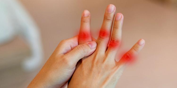 Steife Fingergelenke