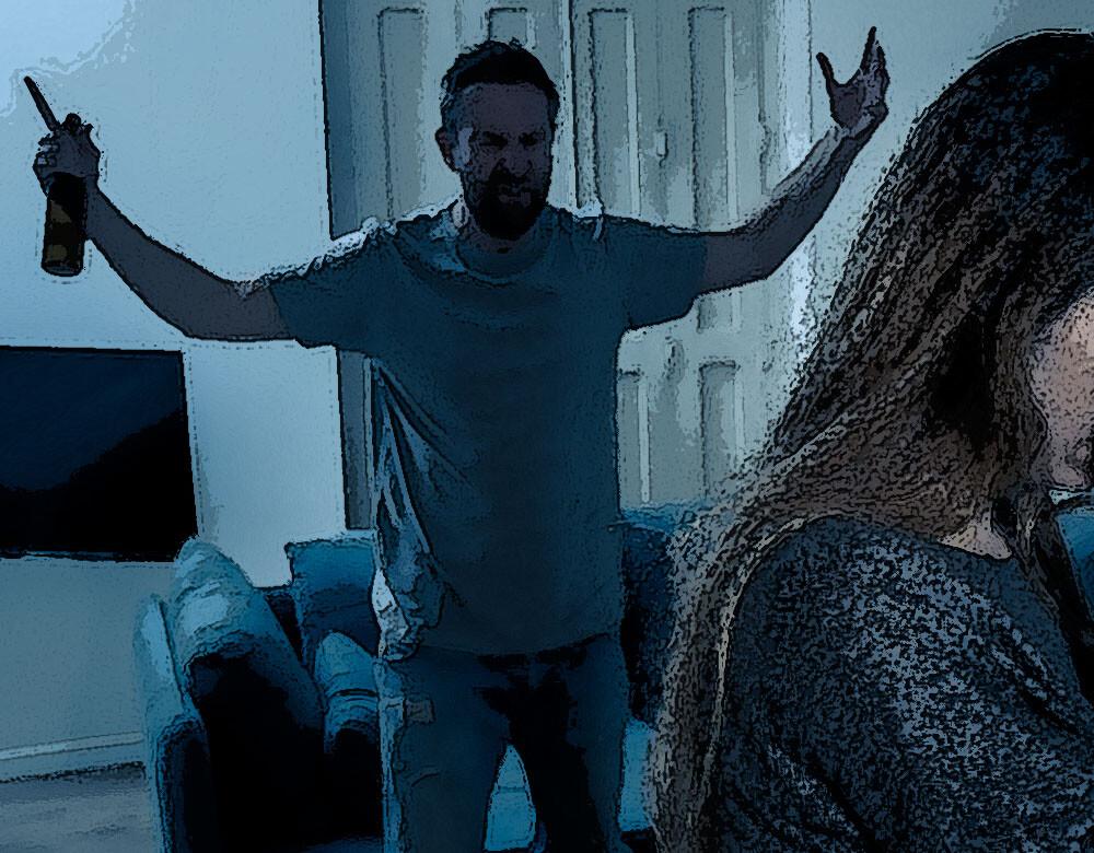 Einer Depression bei Männern geht oft mit aggressiven Symptome einer. © Sam Wordley / shutterstock.com