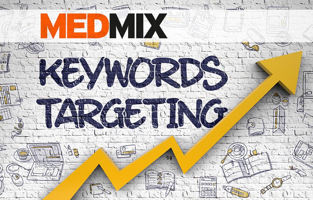 MEDMIX-Keyword-Targeting © Tashatuvango / shutterstock.com; Logo MEDMIX, Montage AFCOM