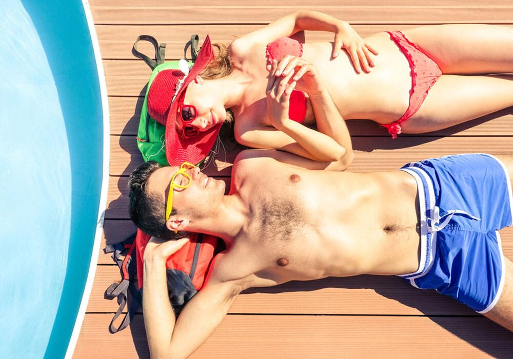 Paar, Honeymoon, Flitterwochen, Zystitis, Blasenentzündung. © sergey causelove / shutterstock.com
