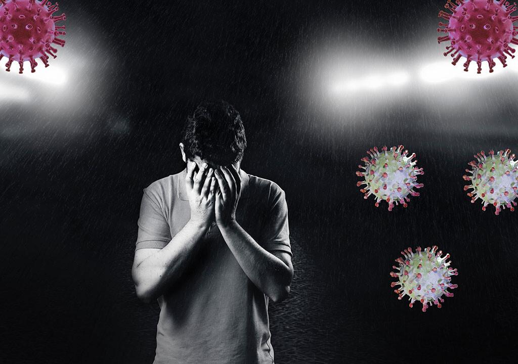 Corona-Pandemie beeinträchtigt die Psyche sehr. © Antonio_22 / shutterstock.com